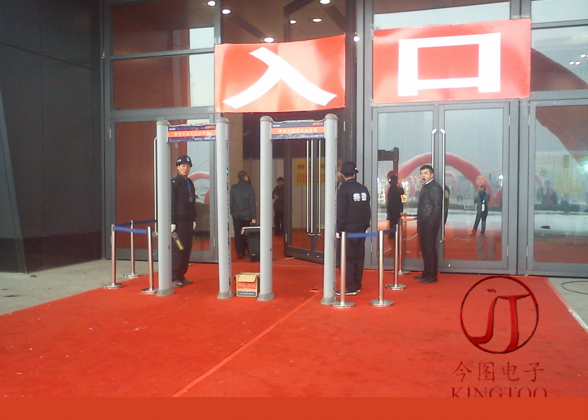 This figure security door debut in 2016 Dalian International Import Commodities Exhibition