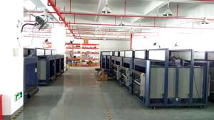 Baggage Scanner X-ray Inspection Machine production department